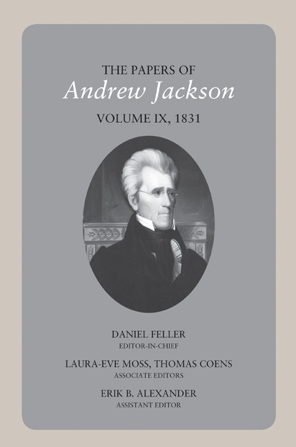 The Papers of Andrew Jackson, Volume 06, 1825-1828